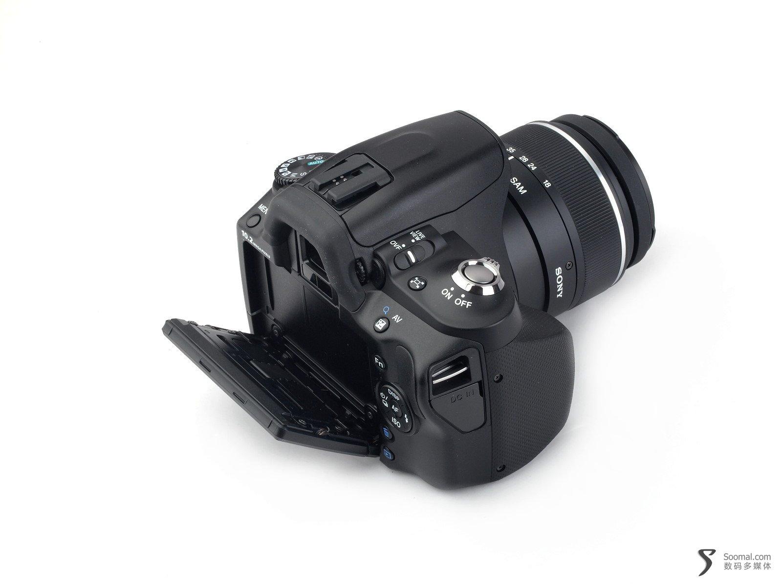 sony 索尼 dslr-a330 数位单眼相机-荧幕可以翻转,高机位拍摄