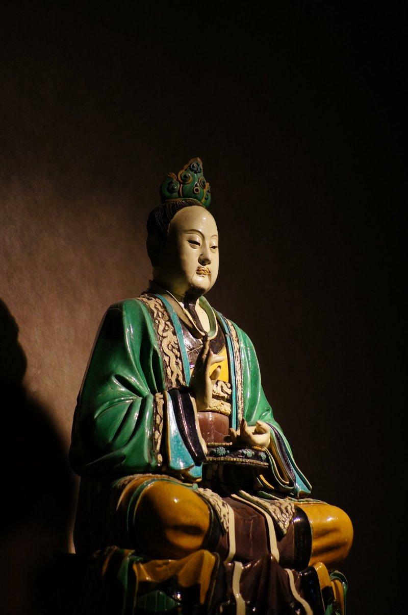 ... 5N 微型可换镜头数码相机-实拍-首都博物馆- 道士瓷像