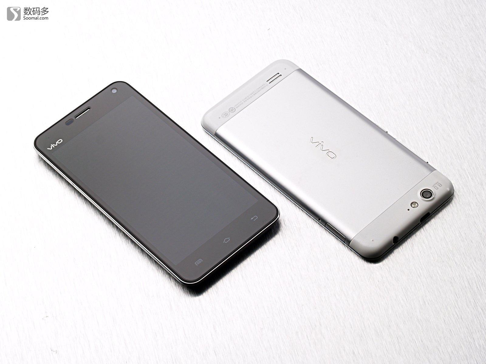 步步高 vivo x1s 智能手机   黑白两种配色[背面]