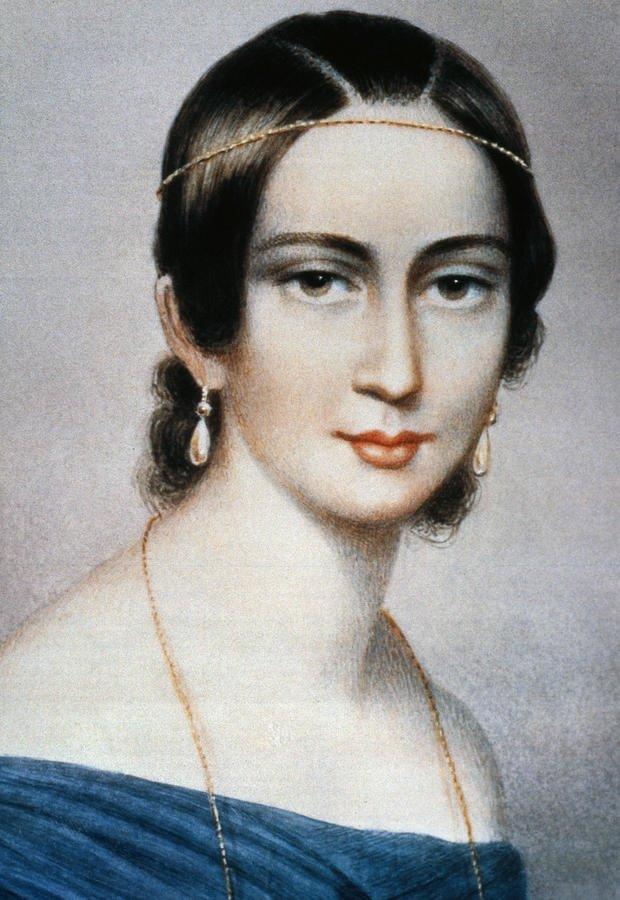 舒曼 的妻子 钢琴家 克拉拉