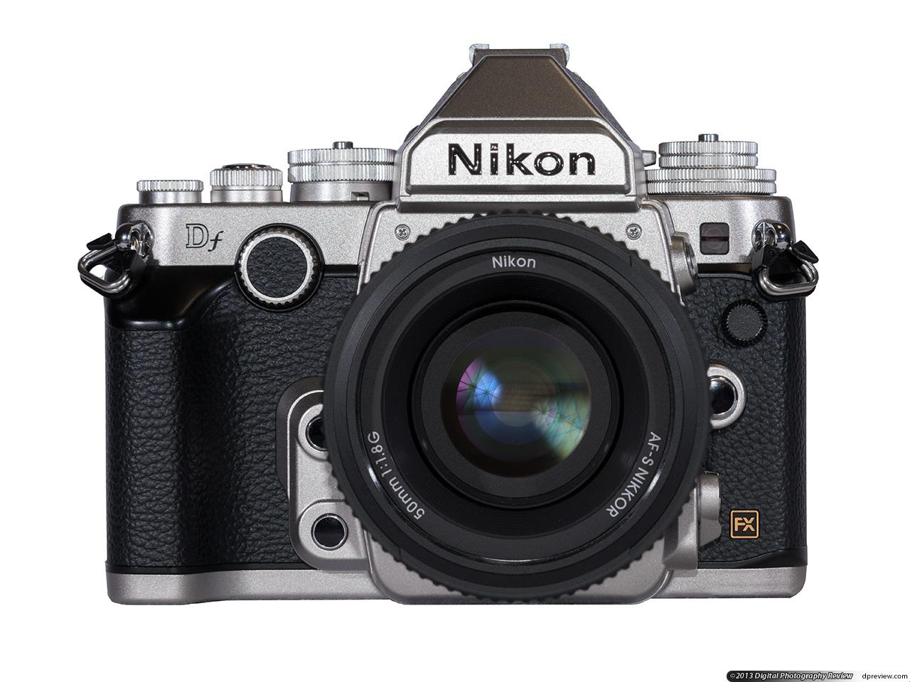 nikon 尼康 df 全画幅数码单反相机-正面图片