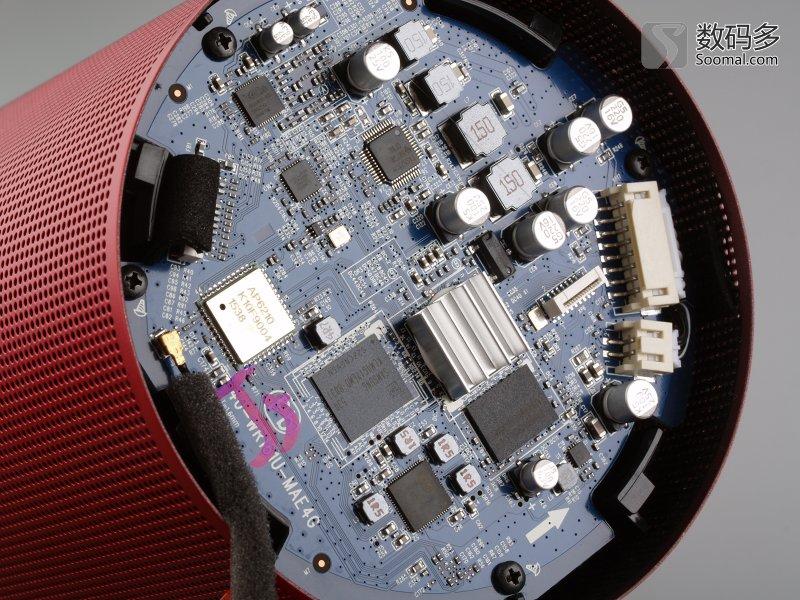dingdong 叮咚 llss-a1 语音智能音箱-拆解-顶部主板部分